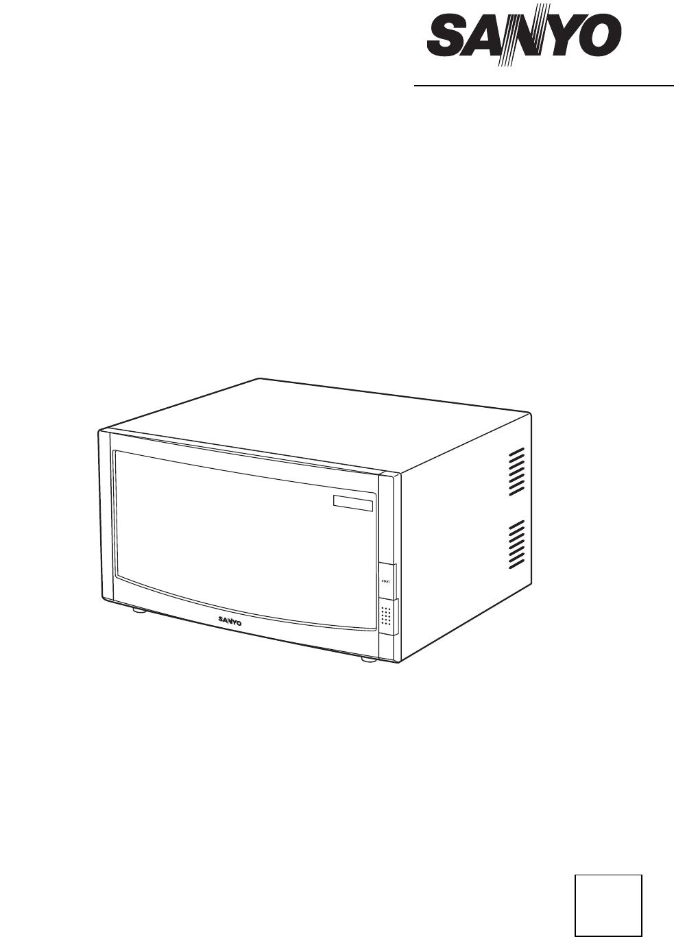 Manual Sanyo EM-FL10NG (16 sider)