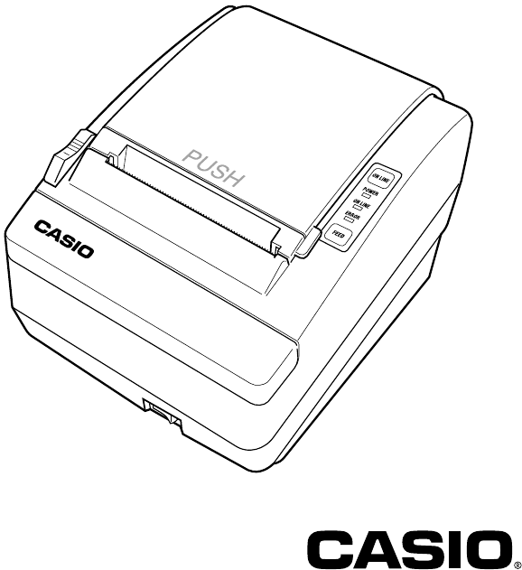 Manual Casio UP-400 (20 sider)