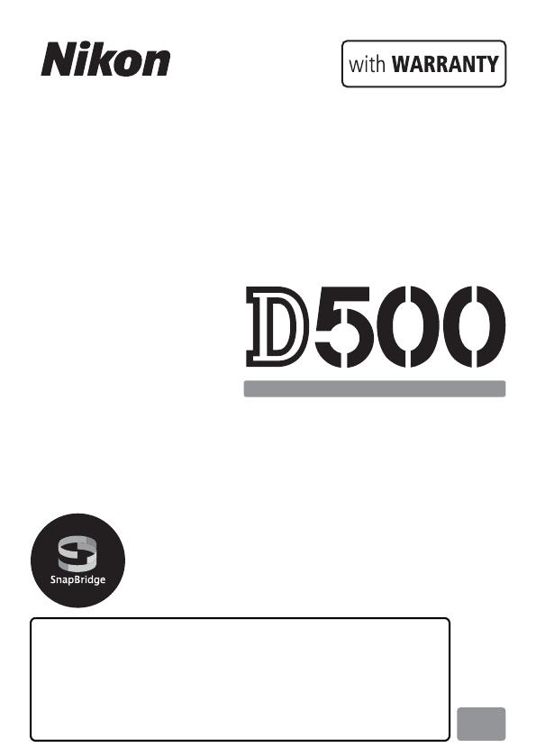 Manual Nikon D500 (432 sider)