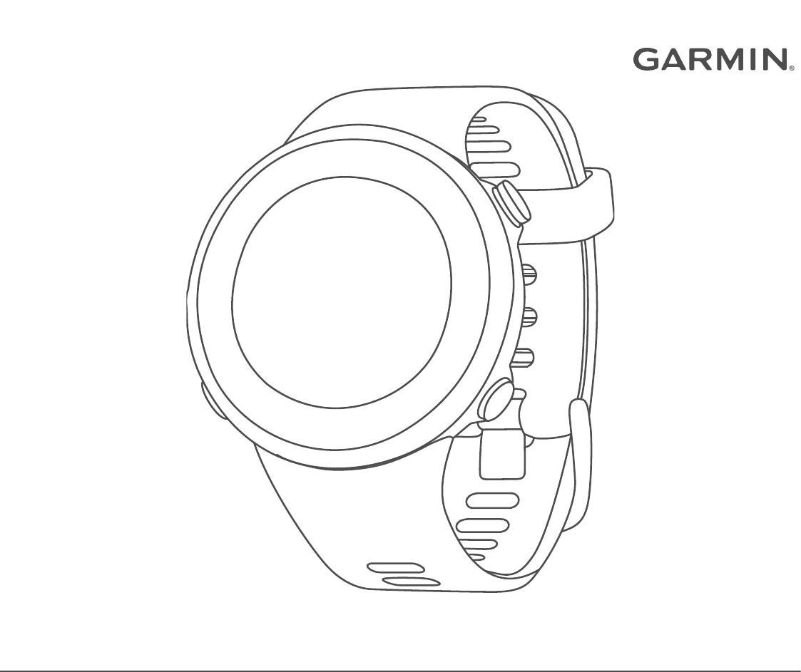 Manual Garmin Forerunner 45S (24 sider)
