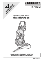 Karcher K 7.85 M manuales