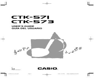 Casio CTK-800 manuales