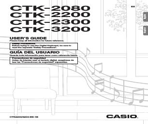 Casio CTK-2300 manuales