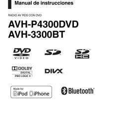 Pioneer Radio Manual Bohr Diagram For Calcium Avh P4300dvd Del Usuario Paginas 104 Tambien Para 3300bt