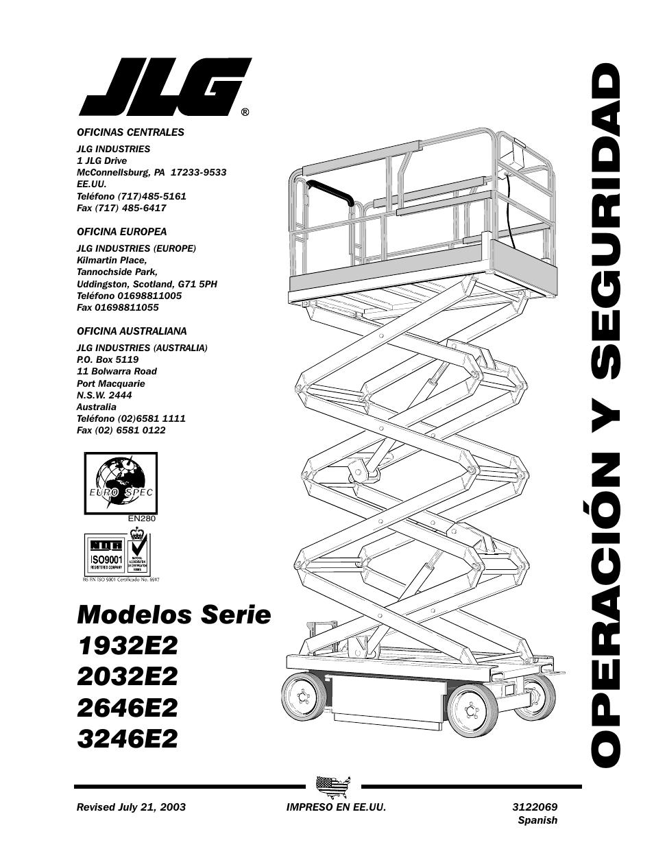 medium resolution of jlg 3246e2 operator manual manual del usuario p ginas 44 rh pdfmanuales com jlg 1932e2 batteries