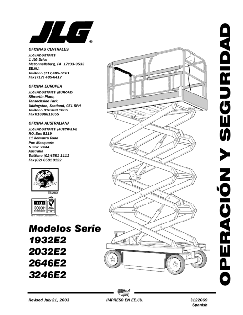 small resolution of jlg 3246e2 operator manual manual del usuario p ginas 44 rh pdfmanuales com jlg 1932e2 batteries