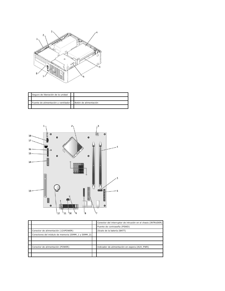 Dell Optiplex Gx520 Motherboard Diagram - memory slots on