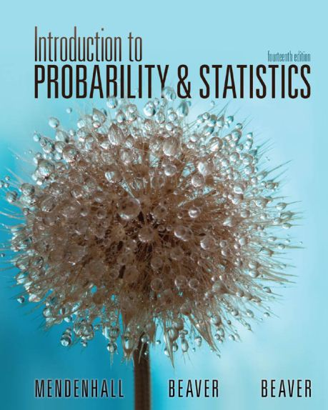 Introduction to Probability and Statistics 15th edition