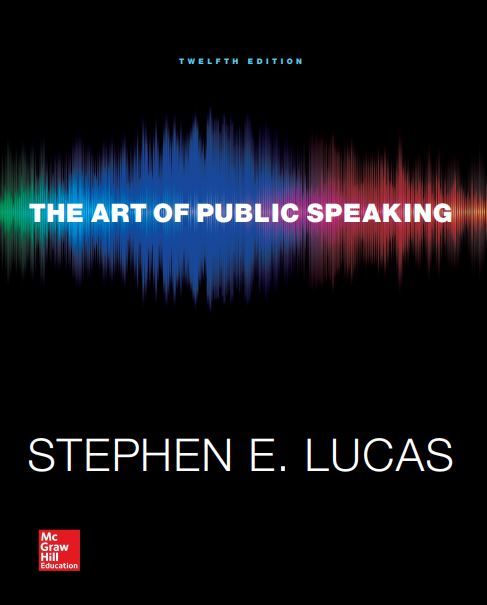 The Art of Public Speaking 12th Edition pdf
