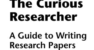 The Curious Researcher 8th edition pdf