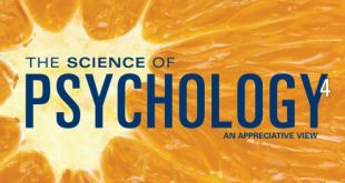 the science of psychology an appreciative view 4th edition