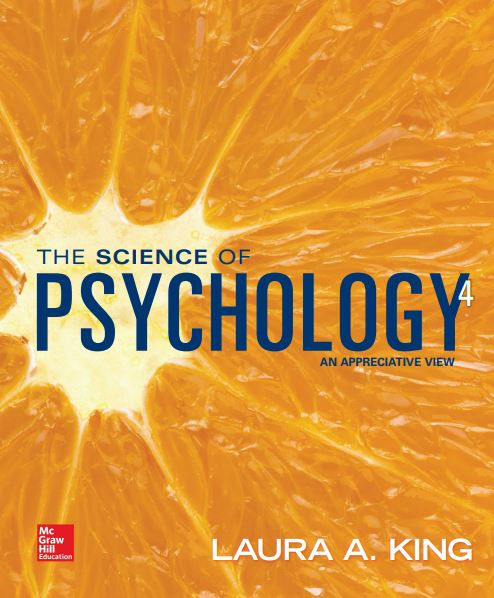 The Science of Psychology An Appreciative View 4th edition pdf