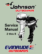 1997 Johnson/Evinrude Outboards 2 thru 8 Service Manual