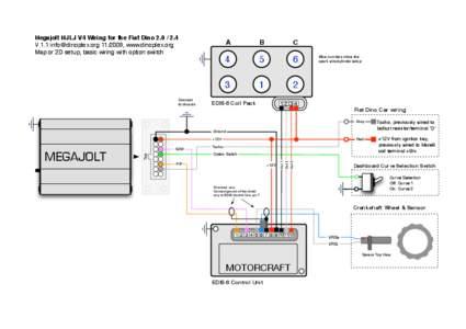 Megajolt MJLJ V4 Wiring for the Fiat Dino[removed]V 1.1