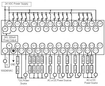 Omron My4n 24vdc Wiring Diagram 250Vdc Wiring Diagram