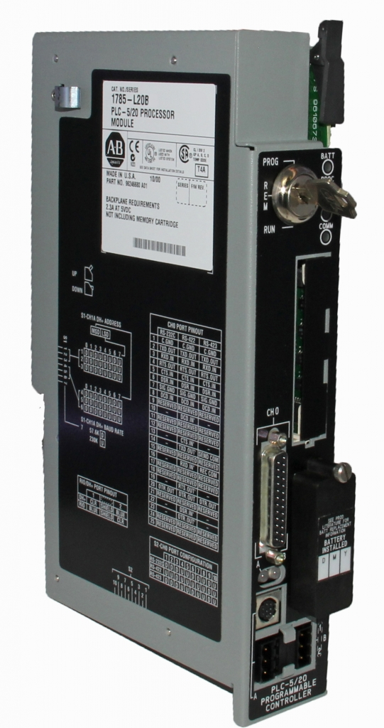PLC-5-20 PLC520 AB In Stock! Allen Bradley PLC-5   PLC-5/20 AB 1785-L20B Cntrlr. 16K Word SRAM Allen Bradley Programmable