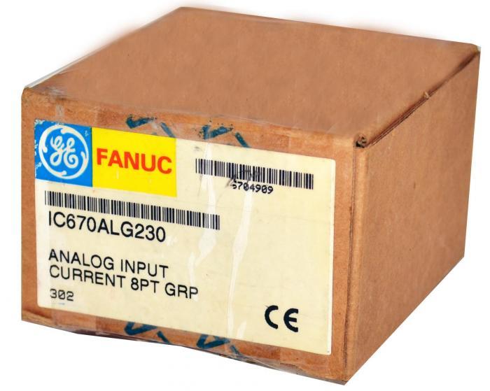 Ge Intelligent Platforms Ge Fanuc Field Control 240vac Input