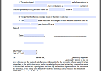 Withdrawal Certificate of Partner from Business