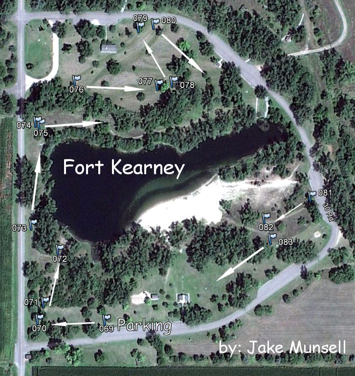 Fort Kearney State Rec Area  Professional Disc Golf
