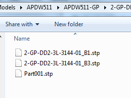 Export 3D PDMS to STP File CAD Part