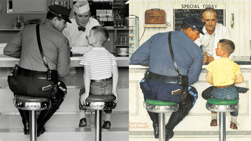 Norman Rockwell - Photographer