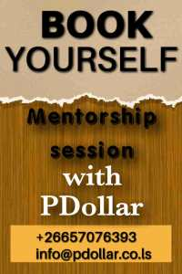 Book Yourself Mentorship Session PDollar