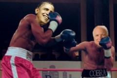 Obama McCain Fight*
