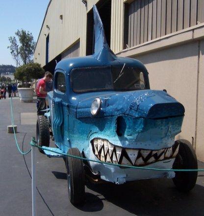 A shark-truck
