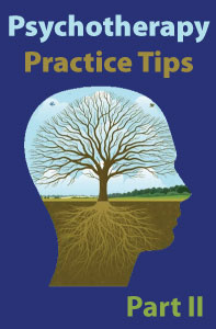Psychotherapy Practice Tips, Part 2