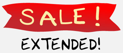 Halloween Sale Extended!