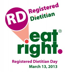Registered Dietitian Day 2013
