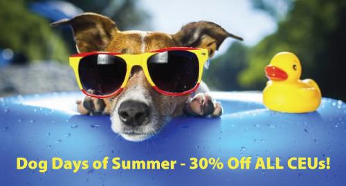 Dog Days of Summer CEU Sale