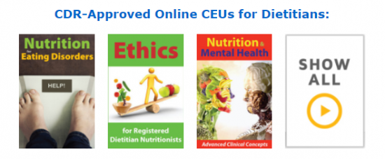 CDR-Approved Online CEUs for Dietitians