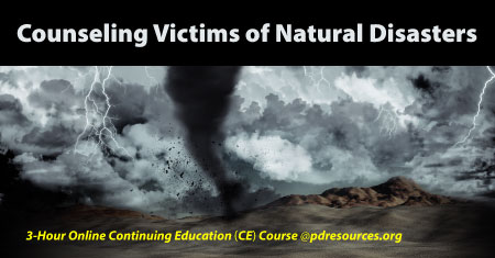 Counseling Victims of Natural Disasters