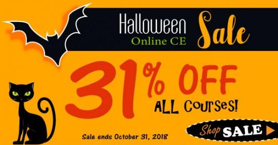 Halloween CE Sale 31% Off CE