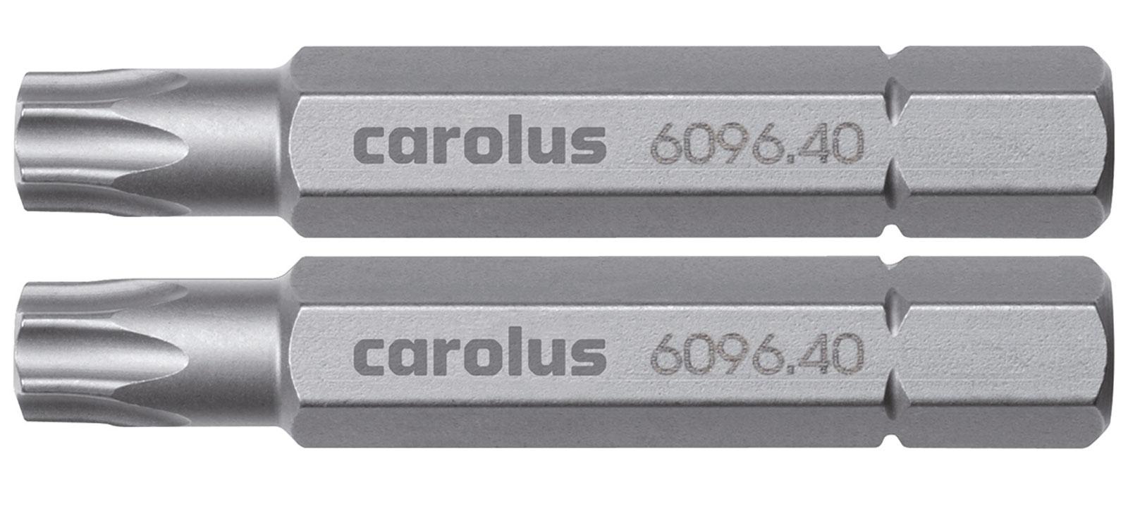 carolus bit 5 16 50 mm lang torx mit stift txb20. Black Bedroom Furniture Sets. Home Design Ideas