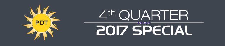 Fourth Quarter Specials