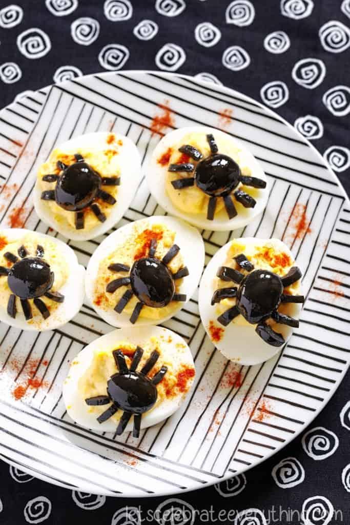 spiderdeviledeggs