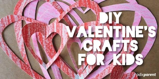 Diy Valentine S Crafts For Kids