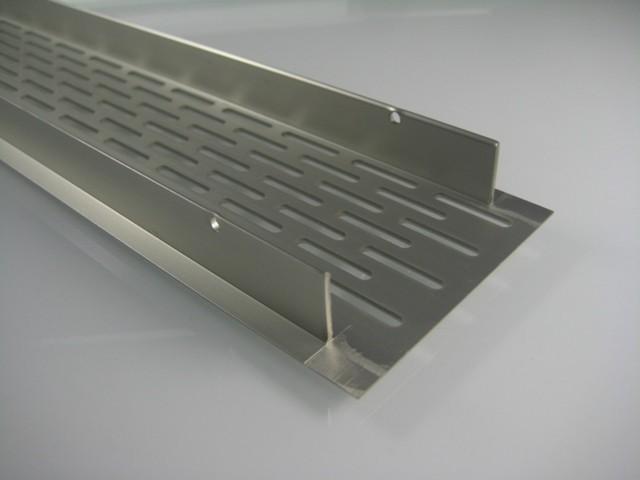 Lftungsgitter edelstahl kche  Metallteile verbinden