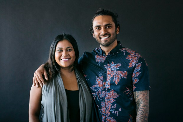 The brother and sister founders, co-owners of Cheesewalla in Redlands, Kadir Fakir and Kamrun Parveen. MANDATORY CREDIT (Photo by Tawny Alipoon)