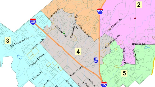 Murrieta chooses district election map despite protest
