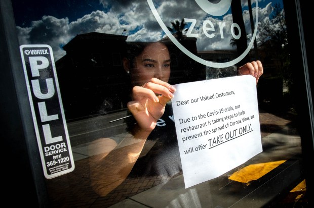 Coronavirus: Riverside closes bars, breweries; restaurants can be ...