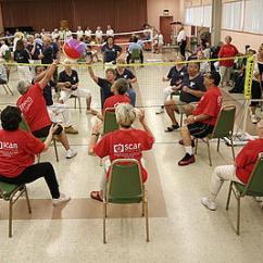 Chair Games For Seniors Executive Office Chairs Perth Menifee Flex Muscles At Press Enterprise
