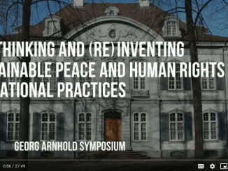 Re)Thinking and (Re)Inventing Sustainable Peace and Human Rights Educational Practices