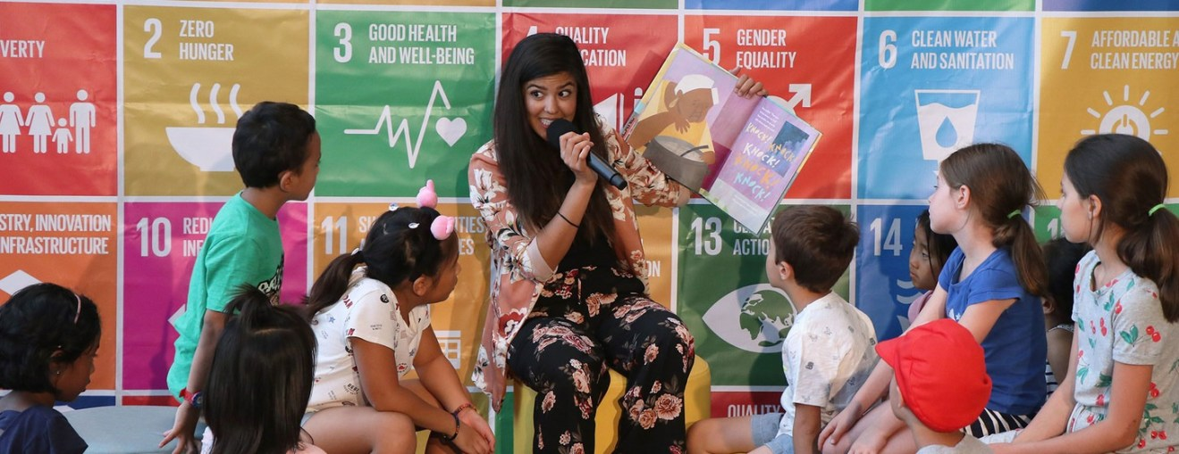 New UN book club helps children deal with global issues