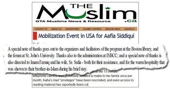 Mauri Saalakhan - Mobilization Event for Aafia Siddiqui