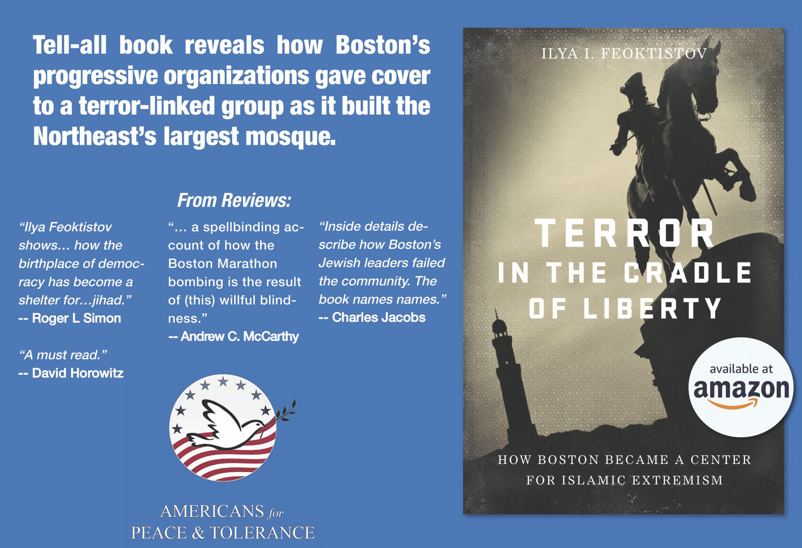 With Tsarnaev's Death Sentence Overturned, Book Reminds How Boston's Jewish Leaders Embraced His Radical Mosque