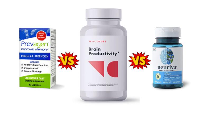 Prevagen vs Neuriva vs Noocube: Which is the Best Brain Power Pills?