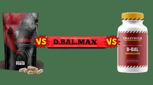 DBulk vs D-Bal Max vs D Bal Comparison by PeaceBuildingPortal
